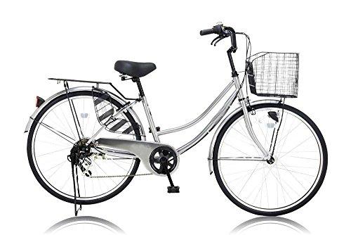 ノーパンク CFT-266-HD 軽快車 自転車 通勤 通学 オートライト 26インチ ママチャリ
