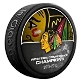 2013 NHL Stanley Cup Playoffs Chicago Blackhawks Western Conference Champions Puck