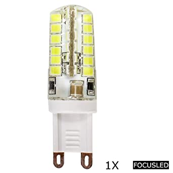 Focusled® 1 pieza G9 Casquillo 3,1 W 48 SMD 2835 LED Bombilla Super ...