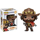 Funko McCree: Overwatch x POP! Games Vinyl Figure & 1 POP! Compatible PET Plastic Graphical Protector Bundle [#182 / 13087 - B]