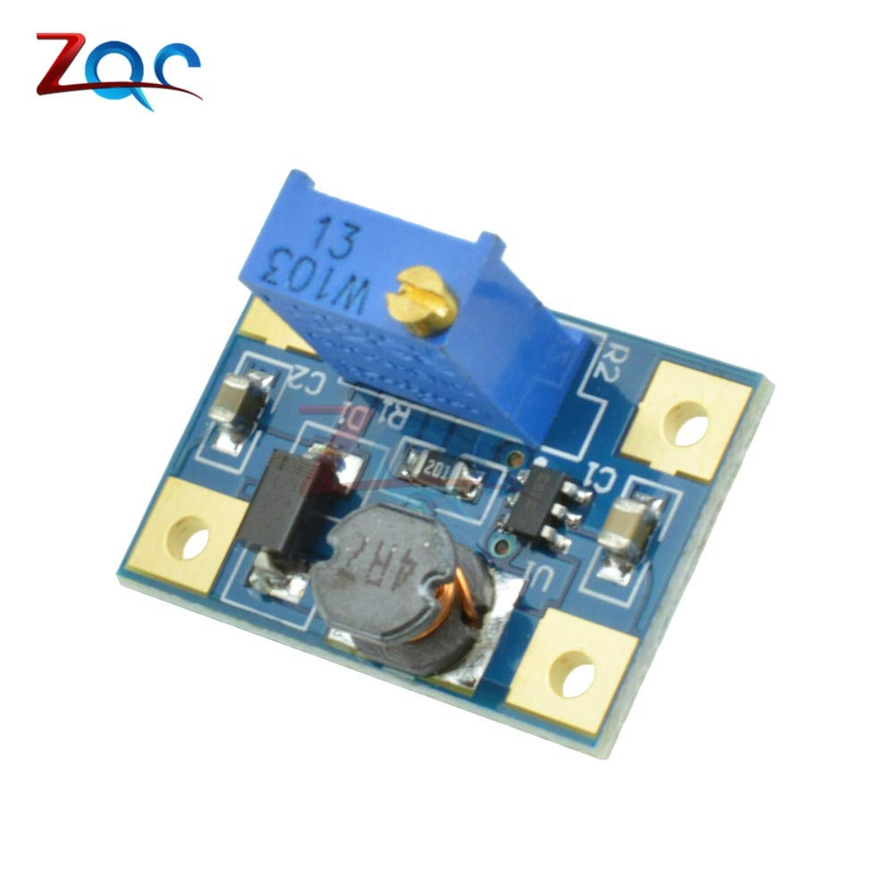 DC-DC 2-24V to 2-28V 2A SX1308 Step Up Adjustable Power Module Step Up Boost Converter Module