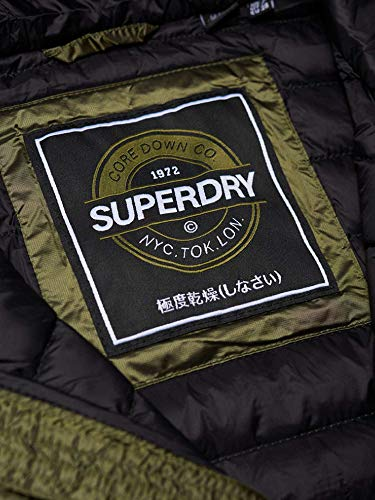 Sportiva Core Donna Giacca Verde Superdry Jacket Down Hooded ZgnqnwRf