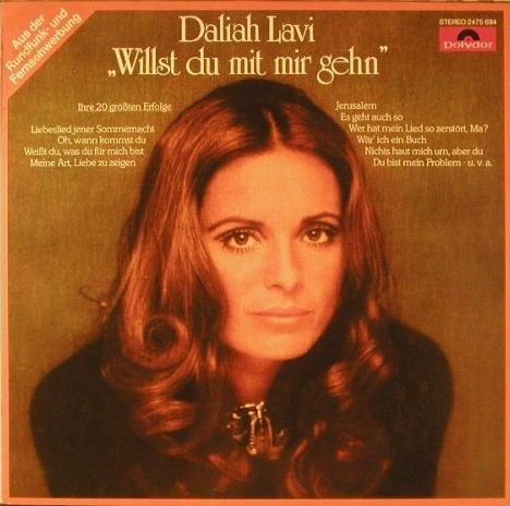 Price comparison product image Daliah Lavi - Willst Du Mit Mir Gehen - Ihre 20 Größten Erfolge - Polydor - 2475 694