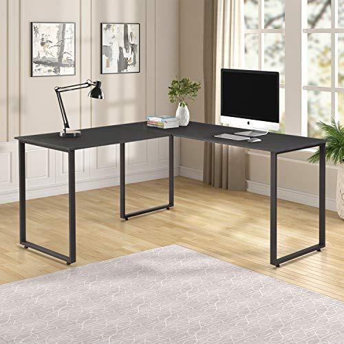 Merax L-Shaped Office Desk Workstation Computer Desk