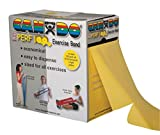 CanDo Perforated Exercise Band, Yellow