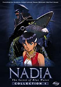 Nadia, The Secret of Blue Water - Collection 1 (Vols. 1-5 + 2 CD soundtracks)