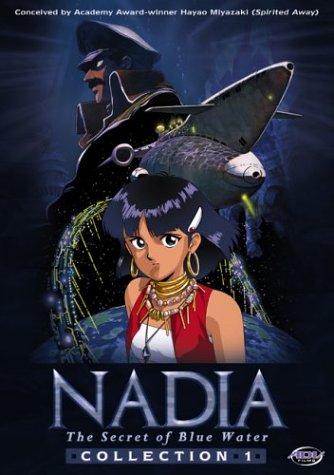 (Nadia, The Secret of Blue Water - Collection 1 (Vols. 1-5 + 2 CD soundtracks))
