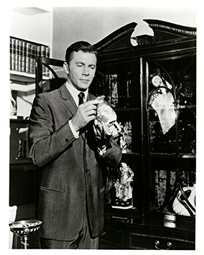The Baron Itc TV Series Steve Forrest Holds Antique Vase 8x10 (Itc Series)