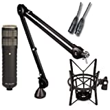 Rode Procaster Booming Kit: Procaster, PSA1, PSM1, and 10 XLR cable