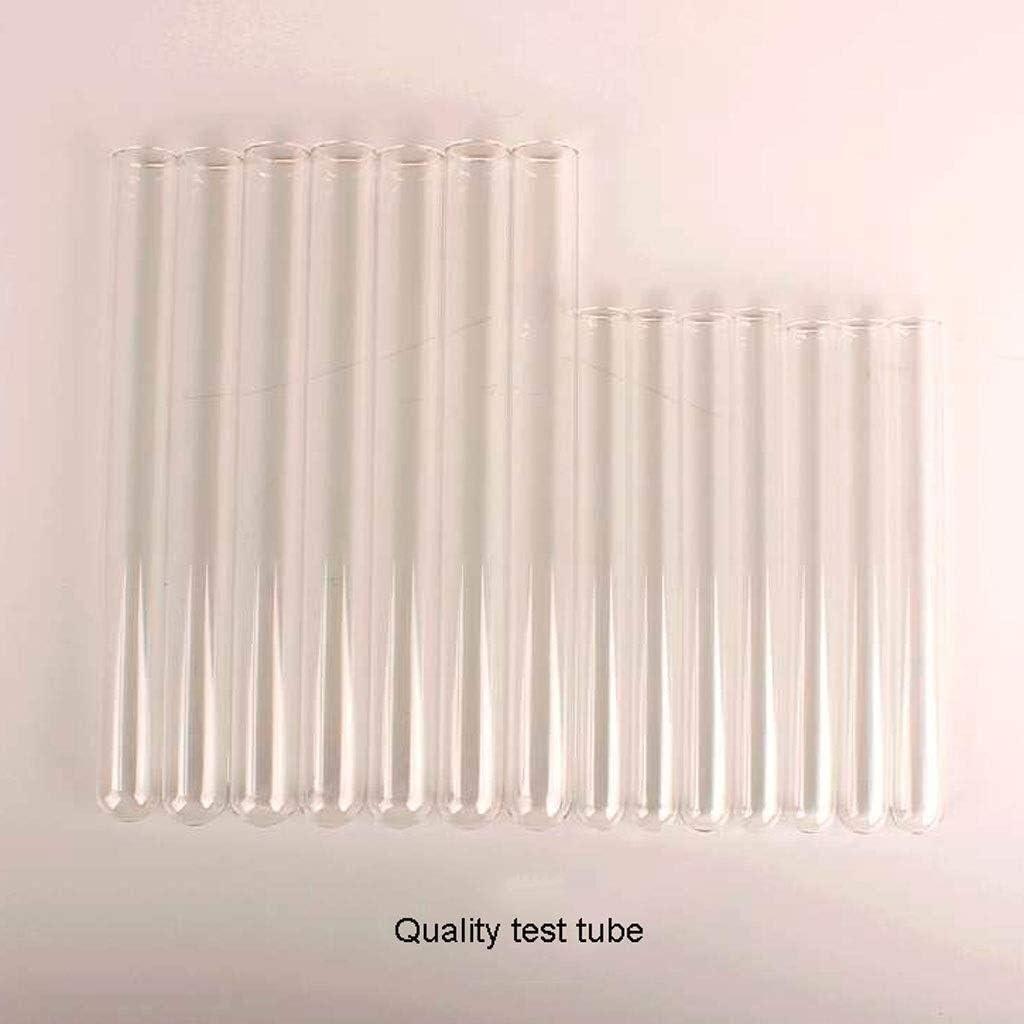 Reagenzglas mit Gummistopfen Laborausstattung Mehrzweck-Reagenzglasgestell mit 12 Reagenzgl/äsern 12 Gummistopfen-Sets Neues abnehmbares Reagenzglasgestell