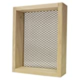 Rickards Deluxe Sifter 7''x9'' - 1/4'' mesh Wood Frame