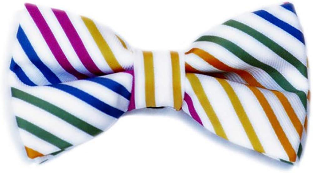 Born to Love Pre Tied Adjustable Bow Tie Skulls Stripes Bowtie Anchors
