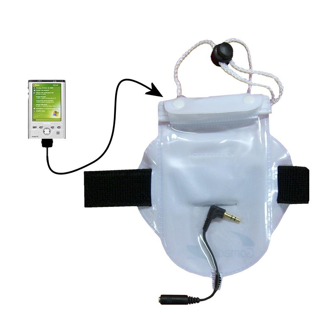 ワークアウト防水Sandproof防塵バッグアクセサリーSuitable for the Toshiba e750   B000F7R3LW