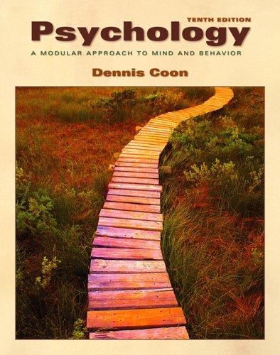 Cengage Advantage Books: Psychology: A Modular Approach to Mind and Behavior (Thomson Advantage Books)