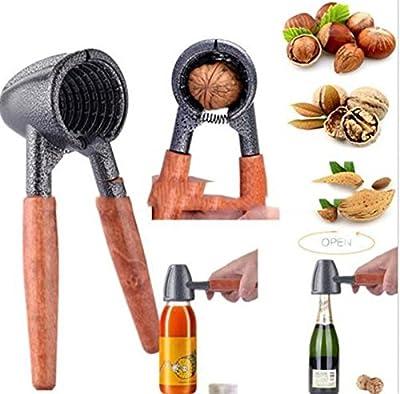 New Delicate Nut Cracker Sheller Walnut Pliers Metal Opener Nut Tool