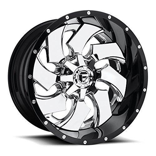 Fuel Cleaver 20 Chrome Wheel / Rim 8x6.5 with a -44mm Offset and a 125.2 Hub Bore. Partnumber D24020208247 ()
