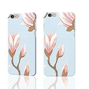 """Large magnolia printed 3D Rough iphone 6 -4.7 inches Case Skin, fashion design image custom iPhone 6 - 4.7 inches , durable iphone 6 hard 3D case cover for iphone 6 (4.7""""), Case New Design By Codystore"""