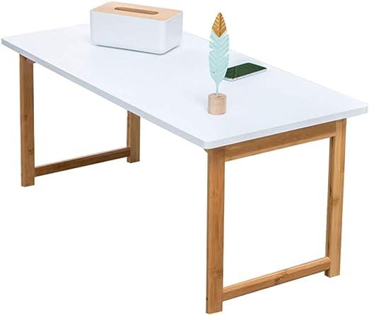 Mesa plegable Mesa de Centro Blanca Plegable, pequeña Mesa de té ...