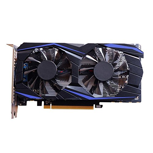 LiChiLan CD Driver,GTX960 4GB Independent DDR5 128Bit Gaming Video Graphics Card w/Dual Fan