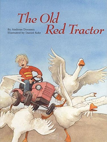 The Old Red Tractor