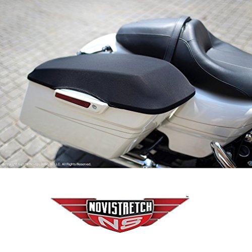 Harley Davidson Novistretch Hard Bag Lid Covers Mesh Design Fits: All HD Touring Motorcycles with Hard Bags