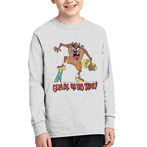 - Sunshine Store Gum Be On His Shoe! Youth Kids Long Sleeve T-Shirt for Boys