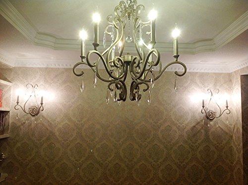 Applique in cristallo funziona lampade da parete antiche di