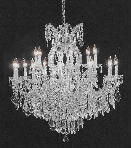 Swarovski crystal trimmed chandelier crystal chandelier h38 w37 swarovski crystal trimmed chandelier crystal chandelier h38quot aloadofball Gallery