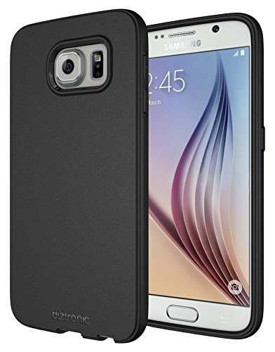 Galaxy S6 Case, Diztronic Full Matte Flexible TPU Case for Samsung Galaxy S6 - Black (GS6-FM-BLK)