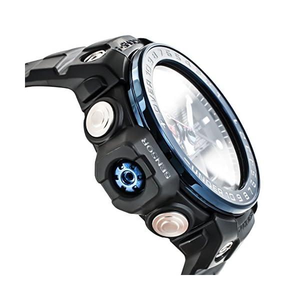 CASIO Reloj Analógico-Digital para Hombre Correa en Resina GWN-1000B-1BER 5
