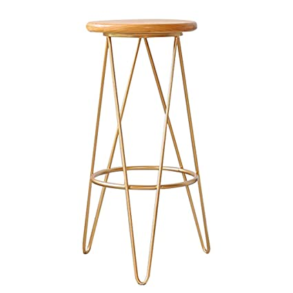 Wondrous Amazon Com Barstool Modern Wooden Seat Cushion Dining Chair Gmtry Best Dining Table And Chair Ideas Images Gmtryco