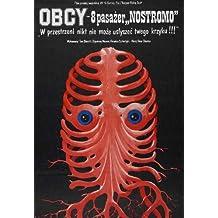Alien Poster Movie Polish 11x17 Tom Skerritt Sigourney Weaver Veronica Cartwright Yaphet Kotto