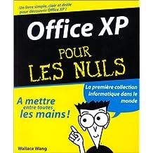 OFFICE XP POUR LES NULS
