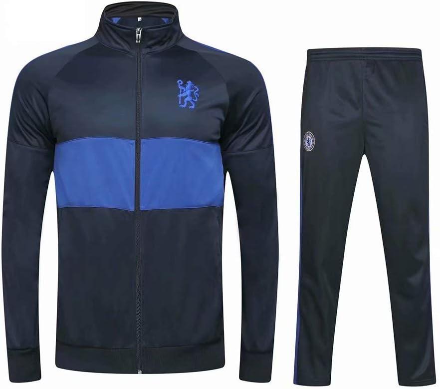 keUiy Jungen Fu/ßball Trainingsanzug Jacke /& Hose Fu/ßball Geschenk Jungen Fu/ßball Trainingsanzug f/ür Kinder Erwachsene Jugend