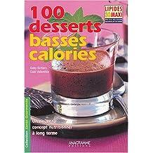 100 desserts basses calories