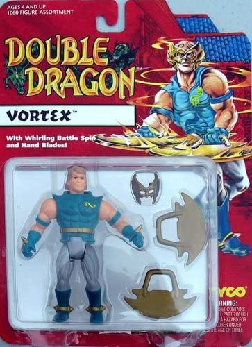 Amazon Com Double Dragon Vortex Action Figure Toys Games
