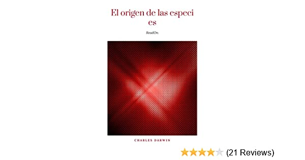 Amazon.com: El origen de las especies (Spanish Edition) eBook: Charles Darwin: Kindle Store