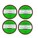 Khadi Absolute Beauty Red Wine Beauty Bath Soap, 100g Each (Pack of 4)