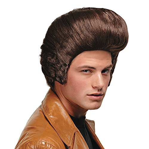 Top 10 recommendation pompadour wig men brown