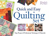 Quick and Easy Quilting Set, Reader's Digest Editors, 0762105747