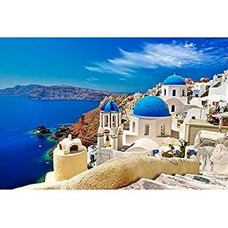 Rocorose 1000 Piece Jigsaw Puzzle, Aegean Sea Floor Puzzle for Kids Adult