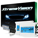 XtremeVision AC 55W HID Xenon Conversion Kit with Premium Slim Ballast - H3 30000K - Deep Blue - 2 Year Warranty
