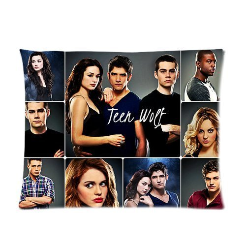 Generic Personalized Teen Wolf Dylan OBrien &Tyler Posey &Crystal Reed Pattern Custom Pillowcase Sold By Too Amazing Pillow Case Pillowcase 20x26 inches (one side)