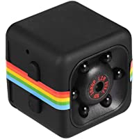 Irfora Mini Cube Camera 1080P HD IR Night Vision 120° Wide Angle 32GB Extended Memory