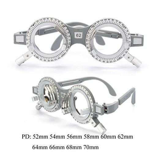 Optométrie SunniMix 58mm Essai SM Optique 2 Lunettes Lentille 62mm Pièces Opticien dPaxq0nB1