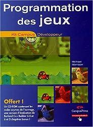 Programmation des jeux (1Cédérom)