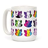 LGBTQ Cats Gay Pride 15 OZ Coffee Mug by LookHUMAN