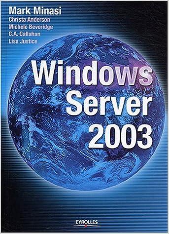 En ligne téléchargement gratuit Windows Server 2003 epub pdf