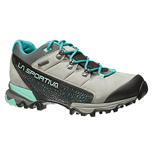 La Sportiva Genesis Low GTX Womens Hiking Shoe Boot Grey/Mint xQqw41Db9
