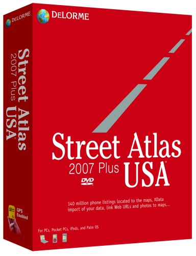 Delorme Street Atlas USA 2007 Plus ()